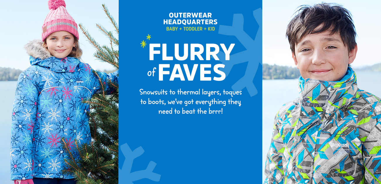 outerwear headquarters | BABY + TODDLER + KID | cozy up to WINTER
