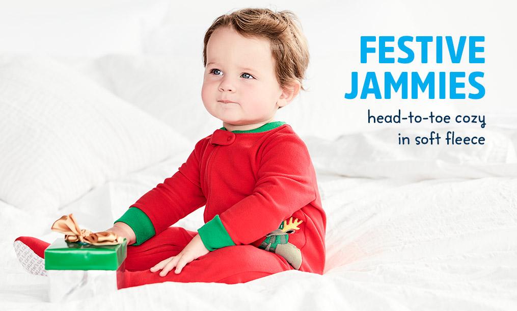 FESTIVE JAMMIES | head-to-toe cozy in soft fleece