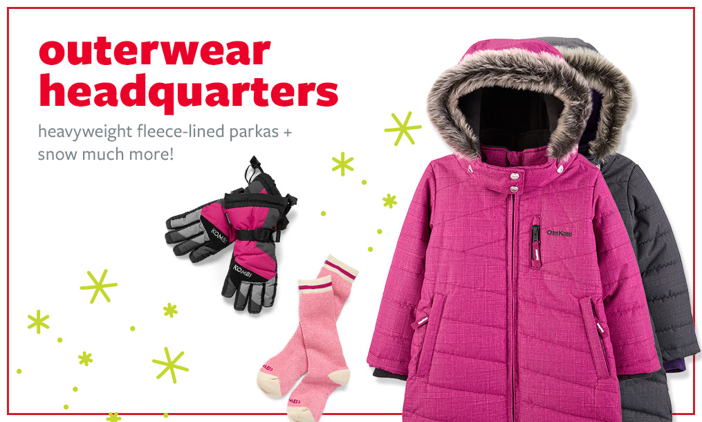 outerwear headquarters | heavyweight fleece-lined parkas + snow much more!