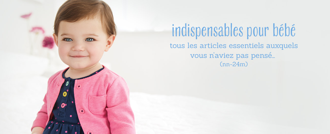 indispensables pour bébé