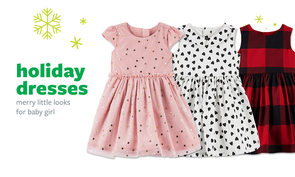 holiday dresses | merry little looks for baby girl