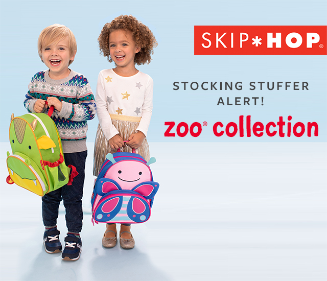skiphop stocking stuffer alert! zoo collection