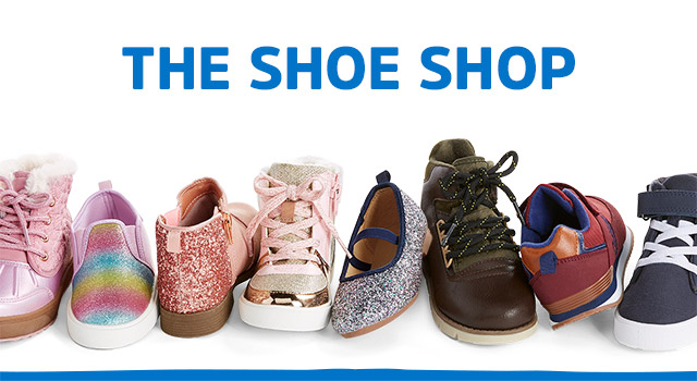 THE SHOE SHOP - step up to the season in perfect pairs, from boots to sparkle flats to snow much more!