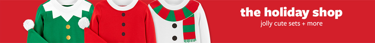 THE HOLIDAY SHOP | jolly cute sets + more