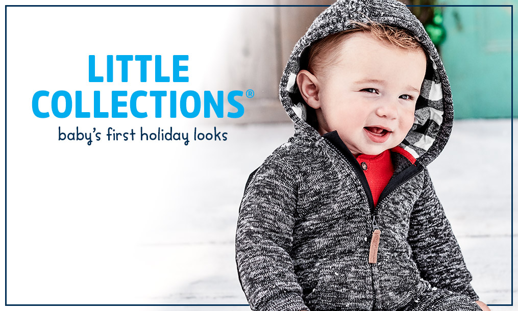 LITTLE COLLECTIONS | bay's first holiday look