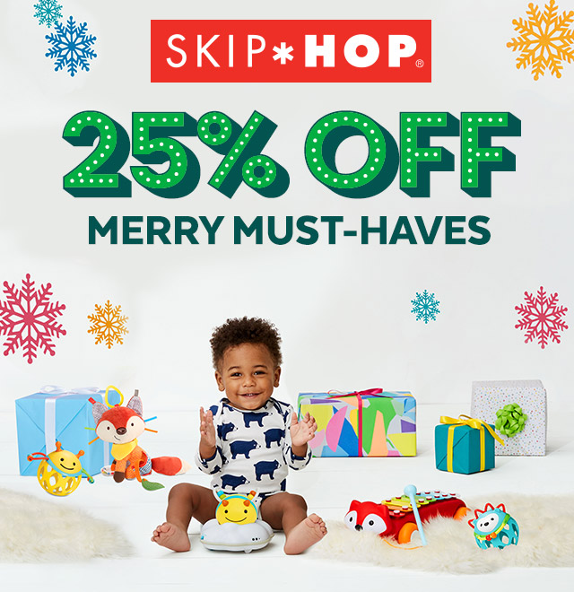 SkipHop 25% off | Merry must-haves