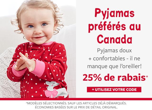 25% de rabais pyjamas préférés au Canada |+ utilisez votre code