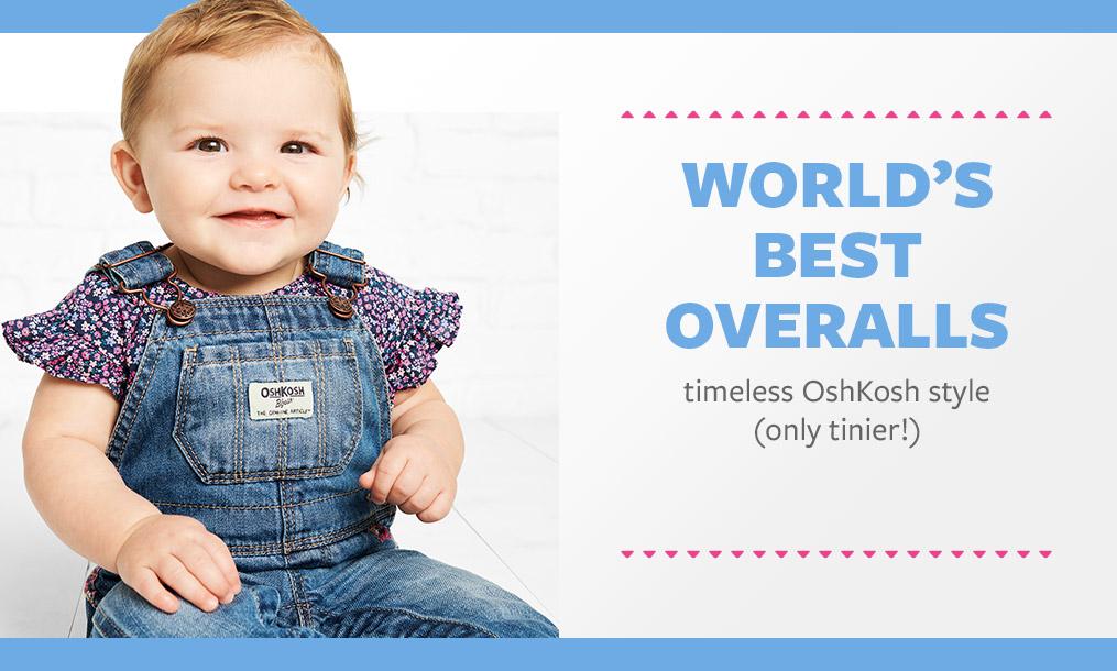 world's best overalls timeless oshkosh style (only tinier!)