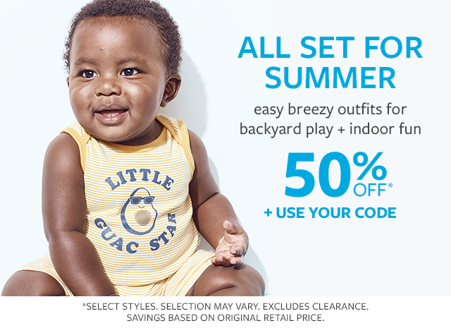 All set for summer | easy breezy outfits for backyard play + indoor fun | 50% off* + use your code