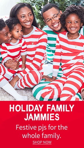 Holiday Family Jammies | Festive pjs for the whole family. | SHOP NOW