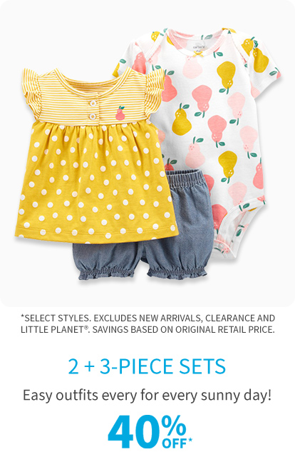 new 2-3 piece sets easy outfits 40% off*