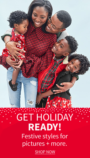 Get HOLIDAY Ready! | Festive styles for pictures + more. | SHOP NOW