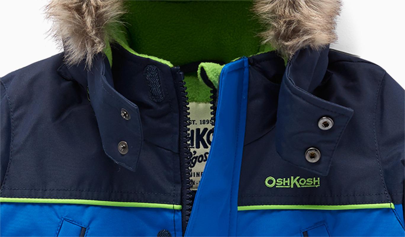 Parka bleue OshKosh