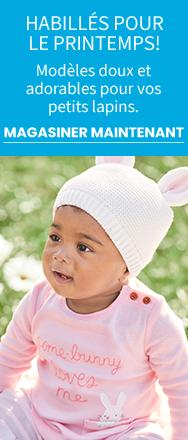 HABILLES POUR LE PRINTEMPS! Modeles doux et adorables pour vos petits lapins. | MAGASINER MAINTENANT