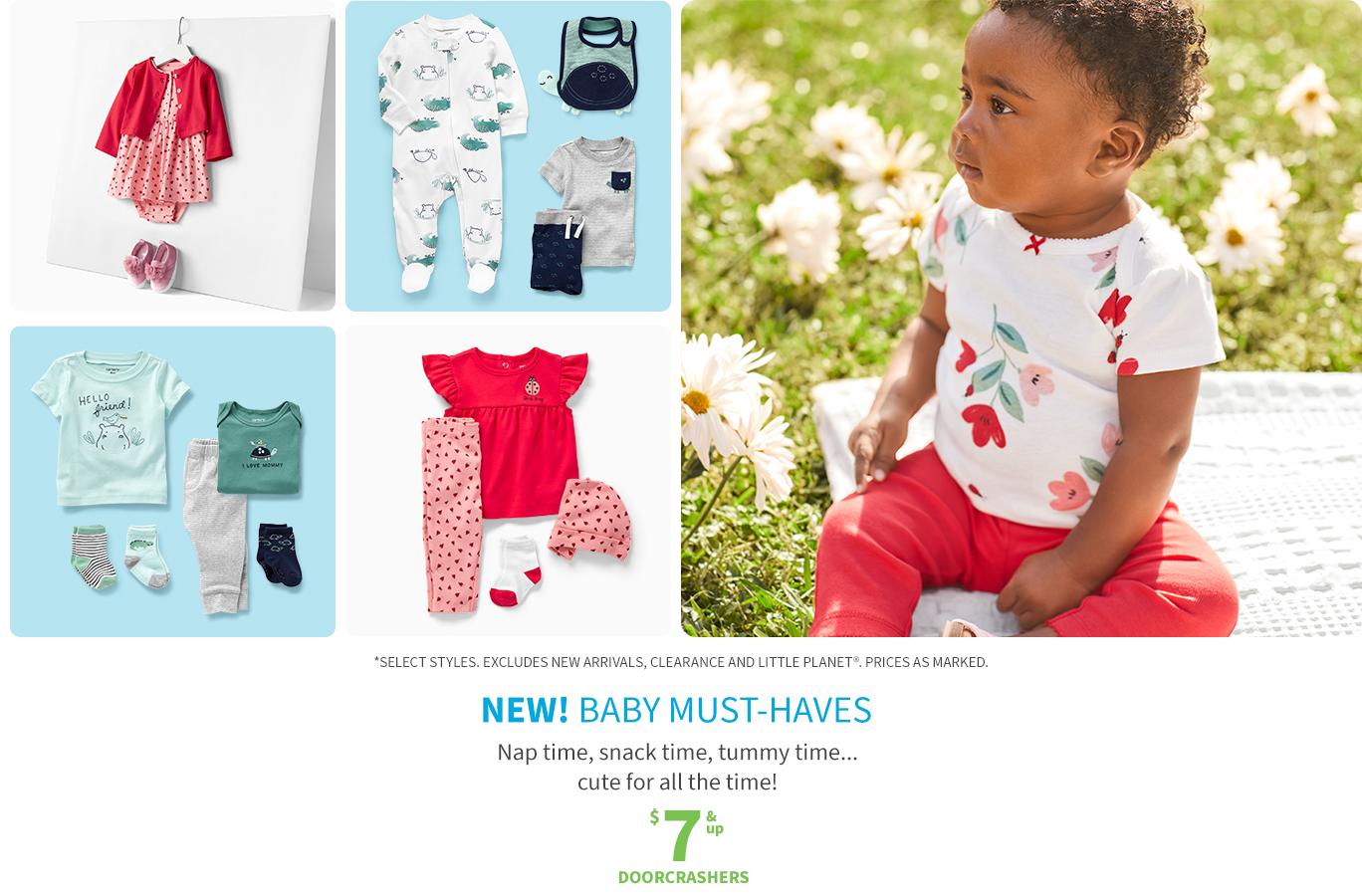 Baby must-haves | $7 & up doorcrachers