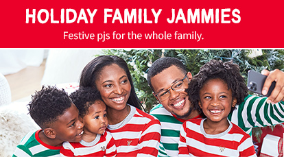 Holiday Family Jammies | Festive pjs for the whole family.