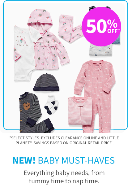 must-haves 50% off