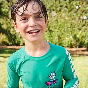 kid boy swimwear