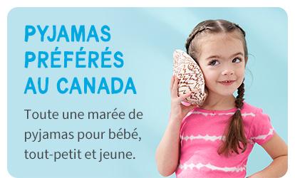 PYJAMAS PREFERES AU CANADA