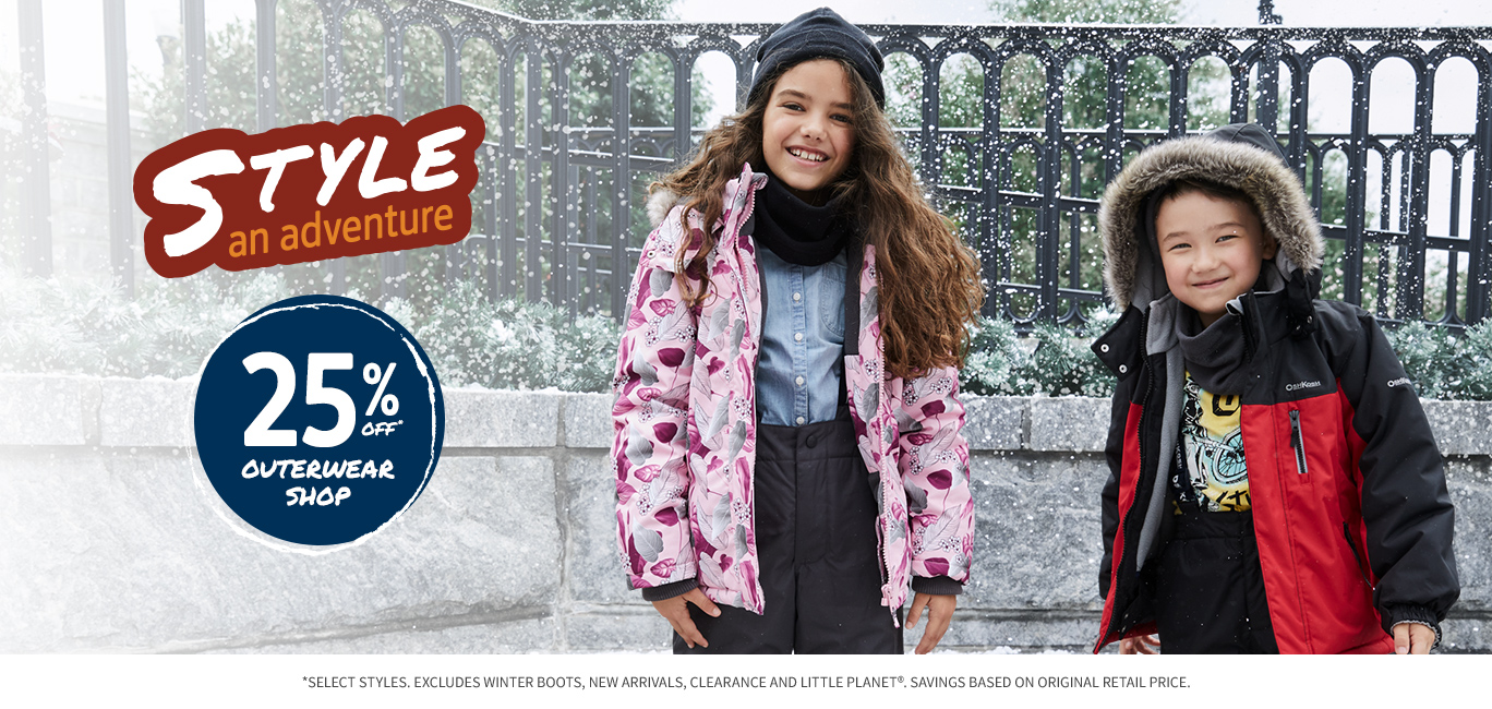 25% OFF OUTERWEAR