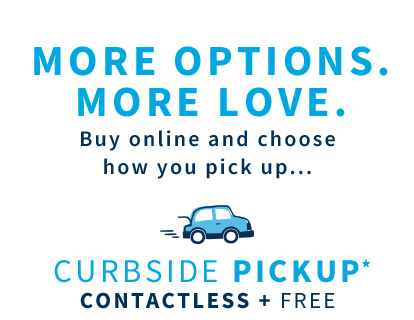 More options. More love.