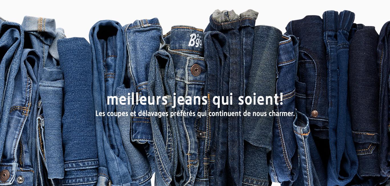 meilleurs jeans qui soient! | Les coupes et délavages préférés qui continuent de nous charmer.
