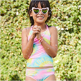 kid girl swimwear