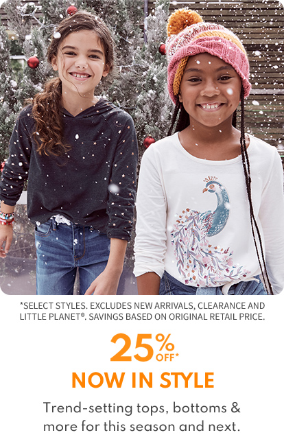 25% OFF TOPS AND BOTTOMS