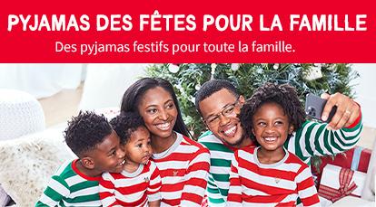 Pyjamas Des Fêtes Pour La Famille | Des pyjamas festifs pour toute la famille.