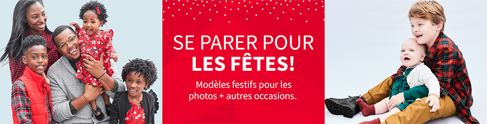 Se Parer Pour Les Fêtes! | Modèles festifs pour les photos + autres occasions.