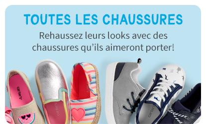 TOUTES LES CHAUSSURES | Rehaussez leurs looks avec des chaussures qu'ils aimeront prorter!