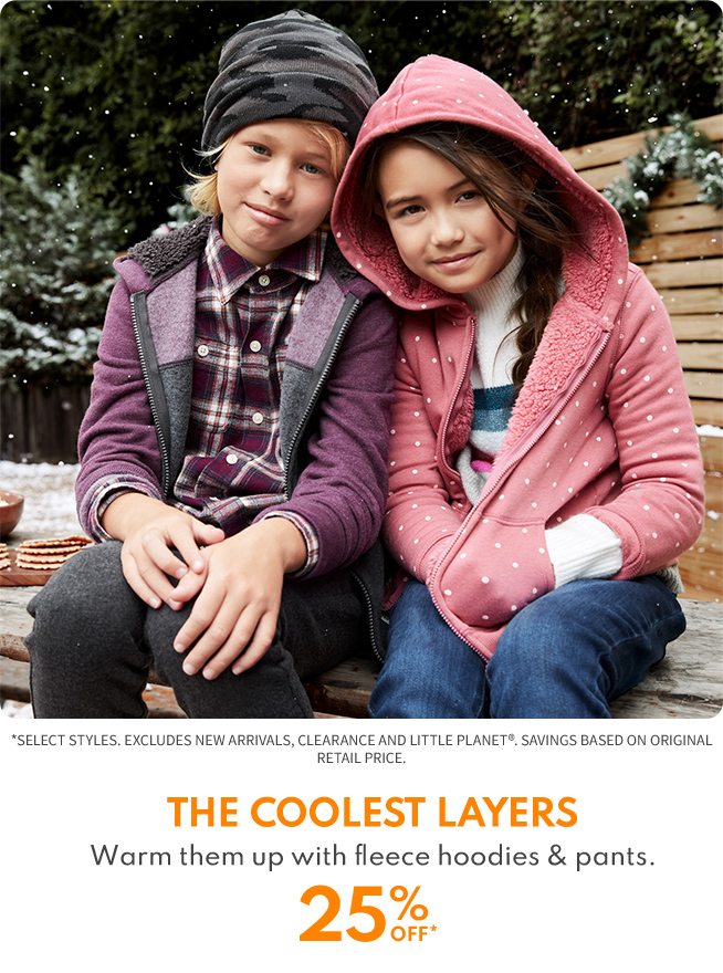 25% OFF THE COOLEST LAYER