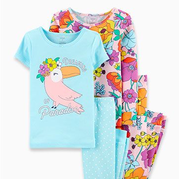 kid girl jammies