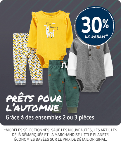 30% OFF EASY ON THE GO SETS