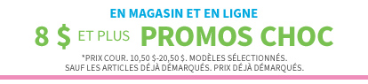 En Magasin Et En Ligne | SOLDE DE LIQUIDATION HIVERNALE | 4,99 $ et plus