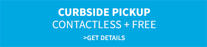 Curbside pickup | contactless + free