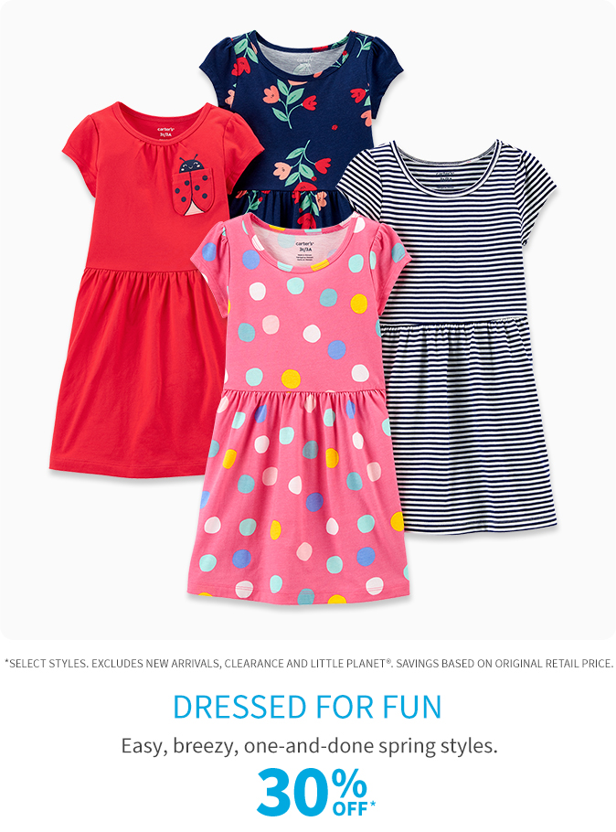 30% off dressed for fun