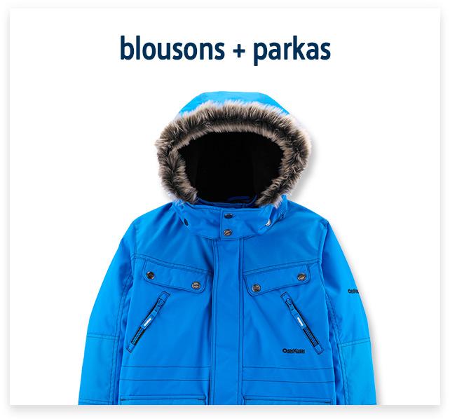Blousons + Parkas