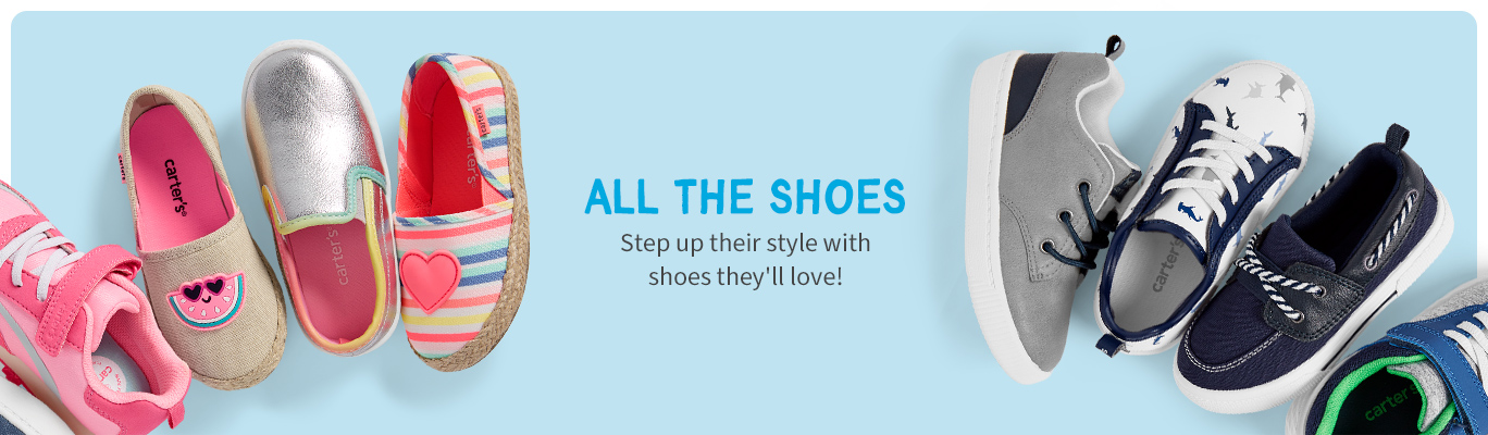 ALL THE SHOES | Step up their style with shooes they'll love!
