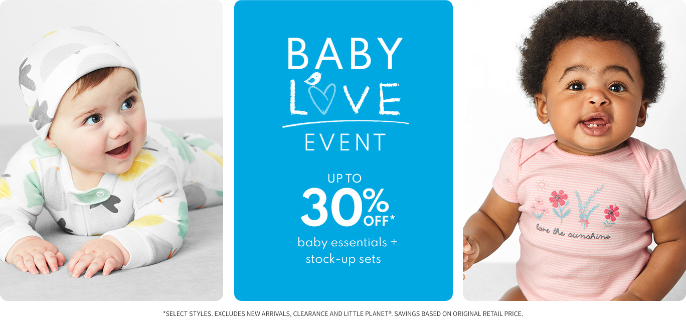 BabyLove event up to 30% off*