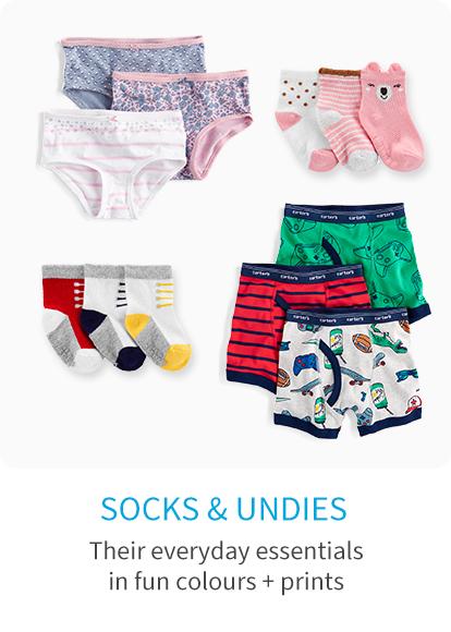 socks and undies