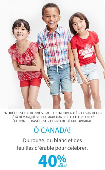 O Canada 40% de rabais