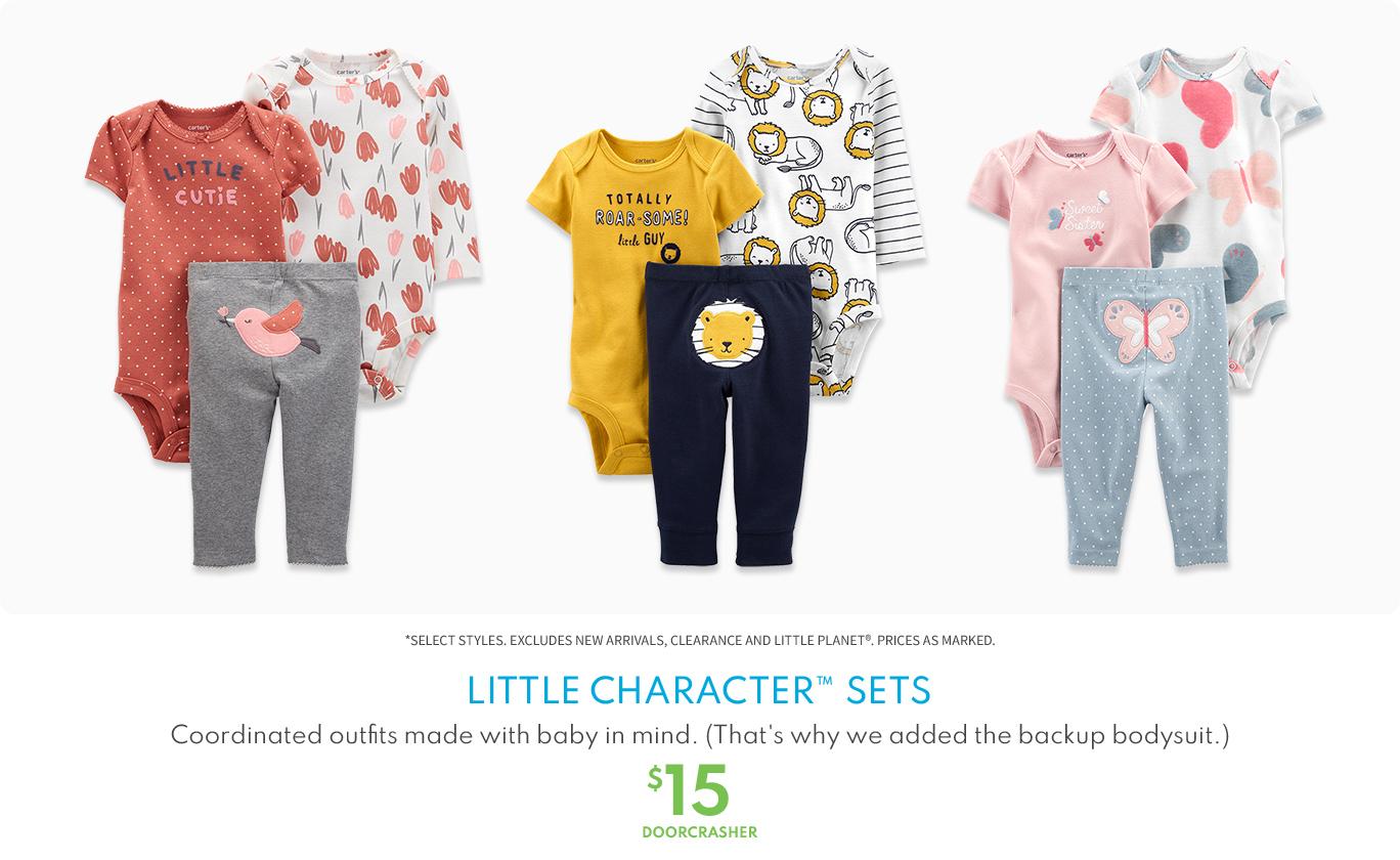 Little Character sets $15 doorcrasher