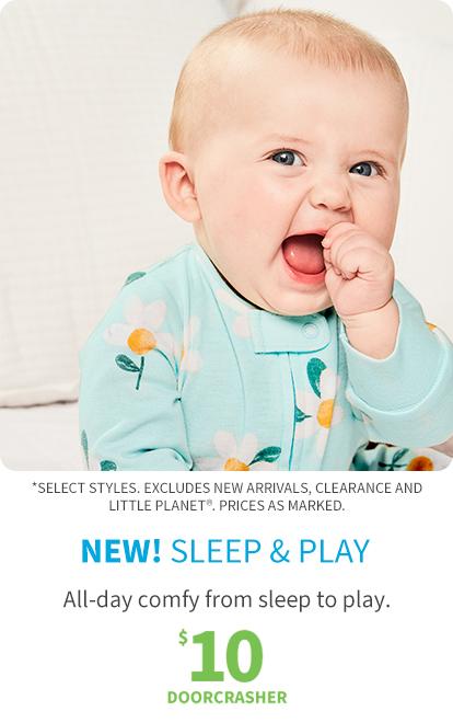 New! sleep & play | $10 doorcrasher