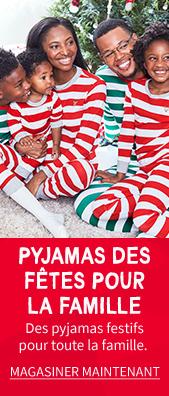 Pyjamas Des Fêtes Pour La Famille | Des pyjamas festifs pour toute la famille. | MAGASINER MAINTENANT