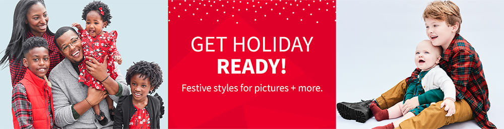 Get Holiday Ready! | Festive styles for pictures + more.