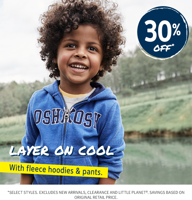 30% OFF LAYER ON COOL