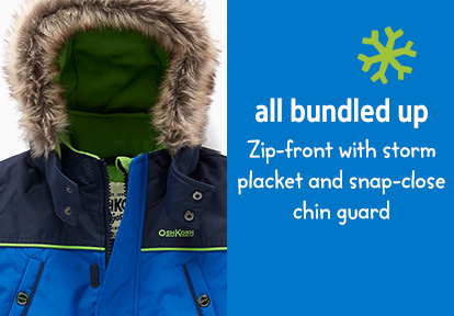 Blue OshKosh Parka image | All Bundled Up