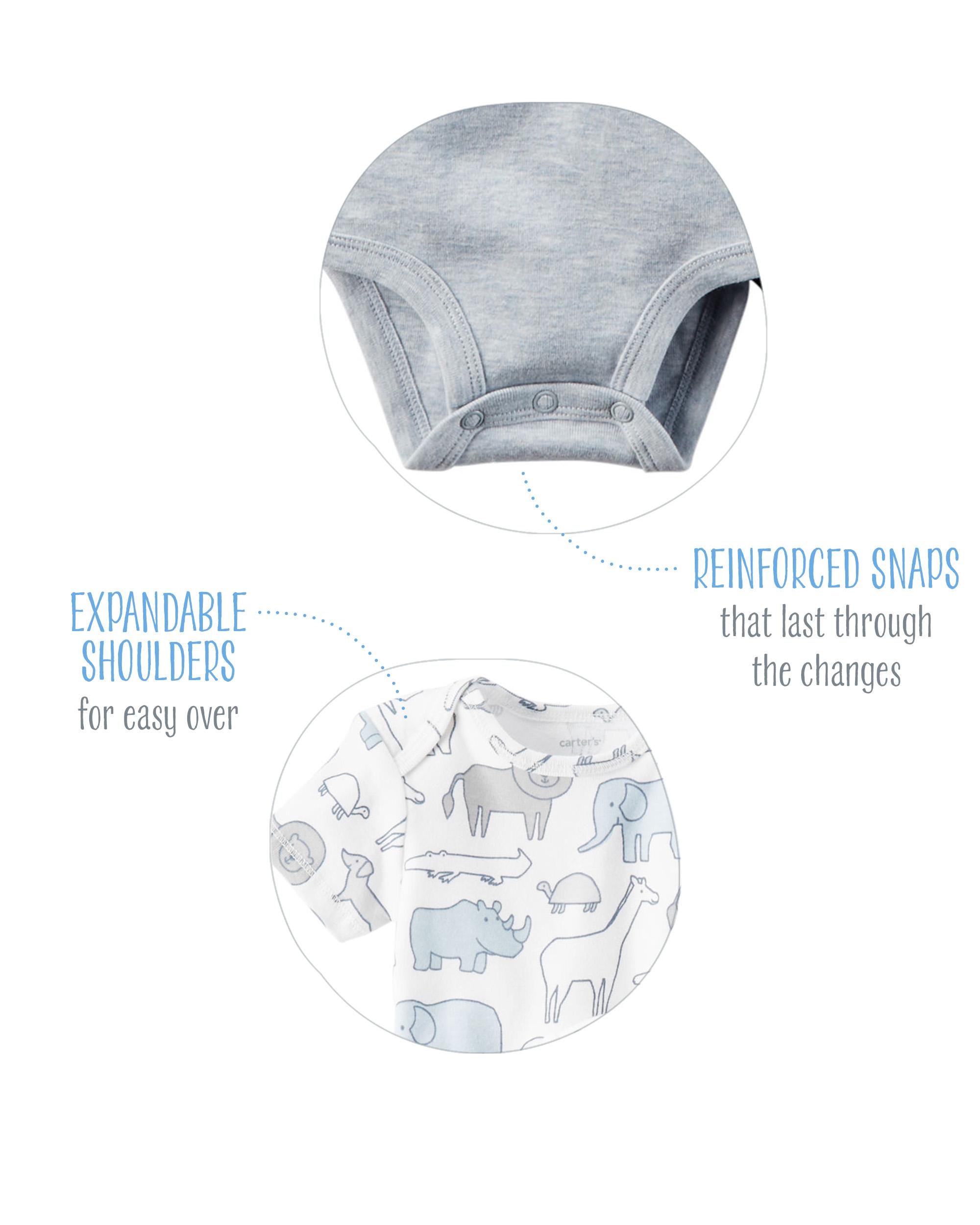 Emballage de 5 cache-couches à manches volantées
